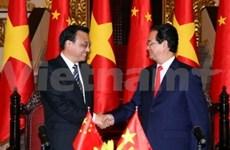 越南与中国进一步深化双方全面战略合作伙伴关系