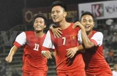 《青年报》国际足球赛:越南U21足球队以1比0小胜新加坡U21足球队