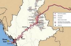 缅甸—中国天然气管道全线投入运营