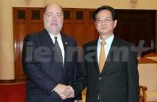 阮晋勇总理会见东盟美国商业理事会代表团