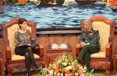 越南与匈牙利和英国加强防务合作