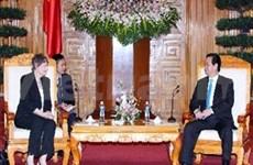 阮晋勇总理会见联合国开发计划署署长
