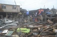 """台风""""海燕""""或已造成菲律宾上万人丧生"""