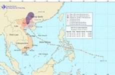 14号台风今天早晨登陆越南北部地区