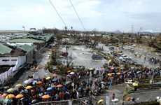 菲律宾海燕台风致使2357人死亡 菲律宾政府加大灾后救援工作力度