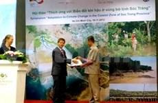 德国帮助越南提高海岸管理与保护能力
