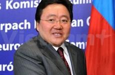 蒙古国总统开始对越南进行国事访问