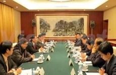 越共中央宣教部代表团访问中国