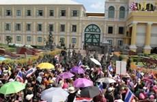 泰国政府承诺继续保持最大限度克制