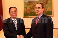 越南与老挝加强两国阵线组织合作关系