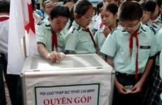 越南举行募捐活动 帮助菲律宾灾民