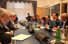 越南首都河内代表团访问欧洲四国