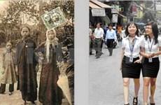 """""""越南妇女从昔日到今日""""图片展在法国巴黎举行"""