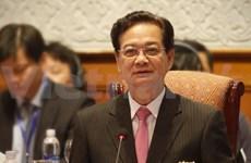 阮晋勇总理出席越南发展伙伴论坛