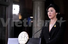 泰国总理英拉宣布解散国会下议院