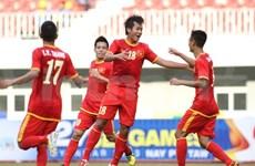 第27届东运会: 越南U23足球队首次出征并获大胜