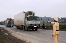 越南着手处理车辆超限超载现象