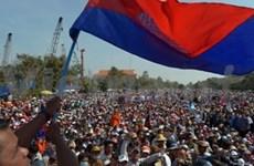柬埔寨反对党示威活动降温 政府拒绝重选