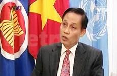 越南驻联合国大使黎淮忠:越南革新事业经验丰富