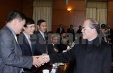 越南国家主席出席第28届越南外交会议