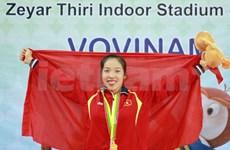 第27届东运会20日:越南选手连获跆拳道金牌