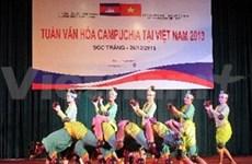 越南柬埔寨文化周:加强团结 增进友谊
