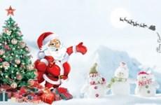 世界各地喜迎圣诞节的到来