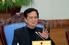 阮晋勇总理:2014年初就大力展开经济社会发展任务