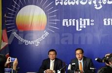 柬埔寨反对党救国党希望重启谈判