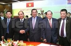 柬埔寨首相洪森与夫人圆满结束对越南的正式访问