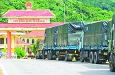 广平省茶洛国际口岸货物进出口额达约160万美元