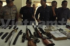 印尼警方成功射杀6名恐怖分子嫌犯