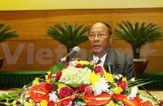 柬埔寨国会主席韩桑林访越之旅圆满结束