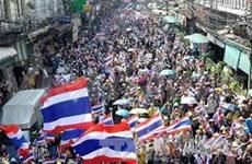 """泰国司法部长:""""封锁曼谷""""行动是违法和危险的"""