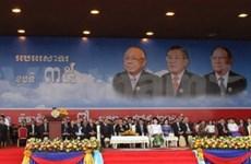 柬埔寨举行集会 庆祝推翻波尔布特种族灭绝政权35周年