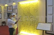 """""""黄沙群岛归属越南""""图片展在岘港市举行"""