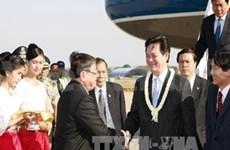 越南政府总理阮晋勇开始对柬埔寨进行工作访问