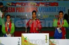 第七届东残会第二天:举重运动员黎文公再创世界纪录