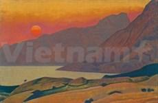 俄罗斯画家画展在越南太原市举行