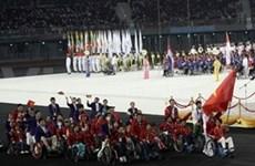 第七届东南亚残疾人运动会落下帷幕