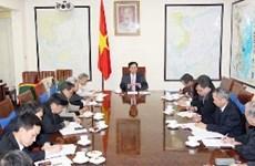 阮晋勇总理同咨询专家小组召开工作会议