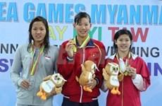游泳选手阮氏映圆被评选为全国最佳运动员