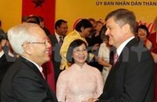 越南胡志明市领导同各国驻越机构代表举行见面会