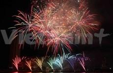 越南全国各地兴高采烈喜迎马年新春