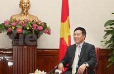 范平明突出阐述2013年越南外交成就
