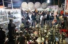 越南南定省每年一度祈求幸运的旺市