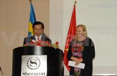 越南与瑞典纪念建交45周年