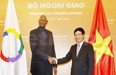 法语国家国际组织秘书长对越南进行正式访问