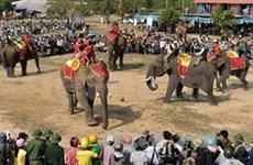 2014年得乐省班敦县各民族传统文化节正式开幕