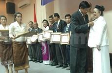 老挝高度评价越侨在老挝抗法时期所做出的贡献